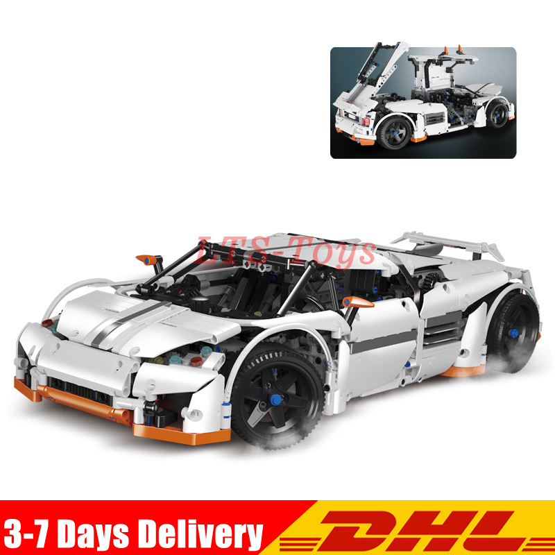 Lepin 20052 The Predator Supercar Set MOC-2811 Assemblage Technic Series DIY Building Blocks Bricks as Educational Toys lepin 20052 the predator supercar set moc 2811 diy building blocks bricks children educational toy christmas gift lepin technic