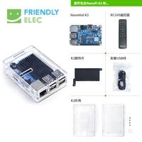 Amlogic S905 Development Board NanoPi K2 WiFi Bluetooth Gigabit Network 4K Play
