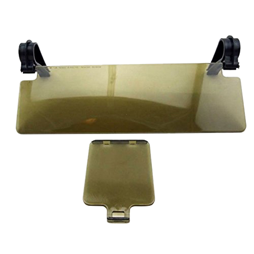 Durable New Sun Shield Anti For Glare Anti-dazzle Clip-on Auto Car Sun Visor Mirror