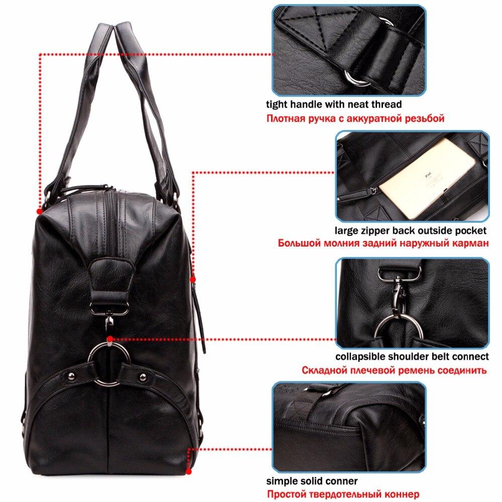 de couro multifunções bolsa de Ocasião : Versátil