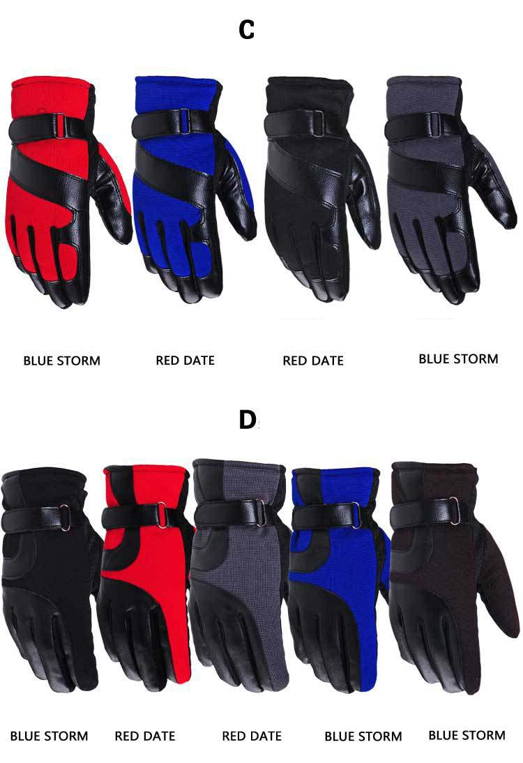 GLV810 BThe new touch screen man winter font b gloves b font thickening outdoor sports bicycling