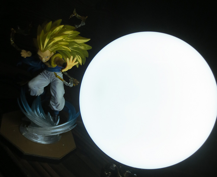KNL HOBBY Dragon Ball LED desk lamp explosion models do Gotenks hand over three led Eye Spot shipping creative birthday gift