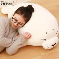 Hot 80cm/100cm We Bare Bears Plush Animal Stuffed Seal Toys Cute Marine Animals Pillow Creative Birthday Gift toys for Children