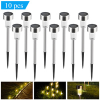 10 pcs Outdoor Lawn Lamp Decoration Outdoor Pathway Garden IP44 Landscape led Yard Luminaria Light Wedding Party Decoration J30