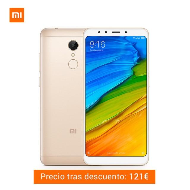 "Global Version Xiaomi Redmi 5 3GB 32GB Snapdragon 450 Octa Core Fingerprint ID 3300mAh Smartphone 5.7"" HD 18:9 12MP MIUI 9"