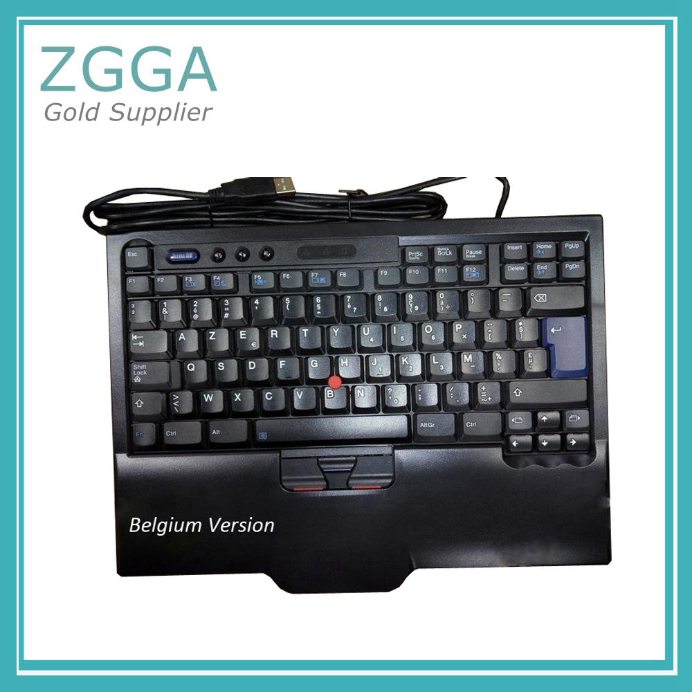 Véritable pour Lenovo ThinkPad 8845CR SK-8845 SK-8845CR UltraNav USB Clavier Trackpoint US Anglais 00MV946 2015 Version Belge