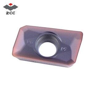 Image 2 - 10 قطعة 50 قطعة 100 قطعة ZCC.CT مخرطة طحن إدراج APMT 1135 APMT1604 كربيد إدراج APMT1135 ل آلات تقطيع EMP05 أدوات تعدين