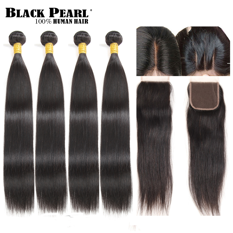 Techniques Black Pearl Pre Colored Straight 4 Bundles With
