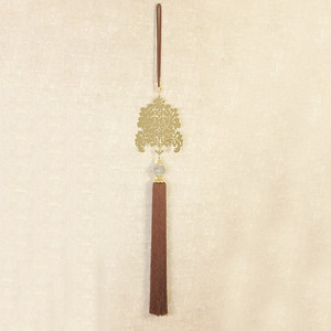 Image 5 - QGVLish 1Pcs Luxury Gold Curtain Tassel Fringe Long Tiebacks Straps Hanging Belt Curtain Accessories Villa Brush Bind Buckle