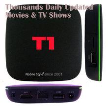 1 шт. T1/R69 Смарт Android 7,1 ТВ коробка Коробки 4 ядра 2 ГБ/16 ГБ HD 3D 1080 P Wi-Fi, Ethernet 1 ГБ/8 ГБ ИК инфракрасный пульт дистанционного управления с