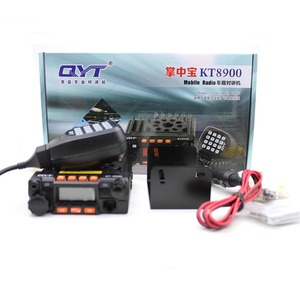 Image 5 - QYT KT 8900 מיני נייד רדיו Dual band 136 174MHz 400 480MHz 25W משדר KT8900 רכב ווקי טוקי