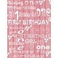 Photography fondo recién llegado primero cumpleaños estudio fotográfico bebé de cumpleaños primero cumpleaños 5X7ft
