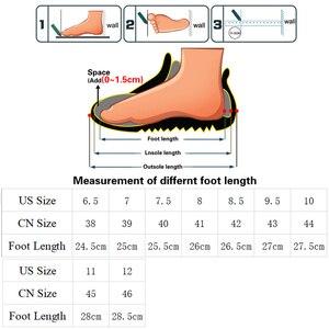 Image 5 - Летние мужские уличные сандалии, клетчатые Летние повседневные удобные нескользящие походные туфли, пляжные рыболовные сандалии, большой размер 38 46