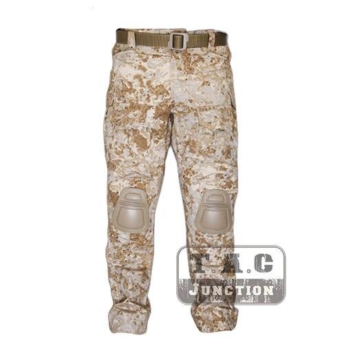 Tactical Emerson BDU G3 Combat Pants Emersongear CP Style Battlefield Trousers Assault Uniform w/ Knee Pads Sandstorm SS new emersongear tactical woman g3 combat uniform pants