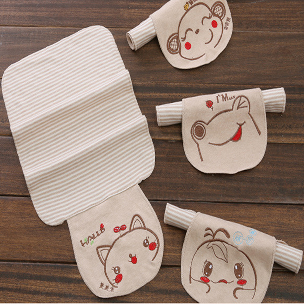 Towel To Wipe Sweat: Aliexpress.com : Buy 5pcs Baby Sweat Towel Cartoon Cotton