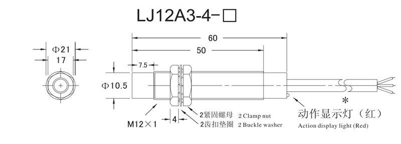 Ansatz Sensor induktiver näherungsschalter sensor M12 4mm DC 12 V 24 ...