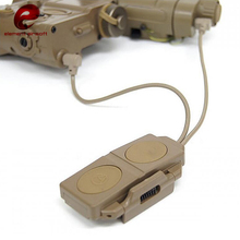 Element Airsoft Tactical Dual Remote Control Switch Pressure for PEQ 16A and M3X Weapon Light Accessories EX177