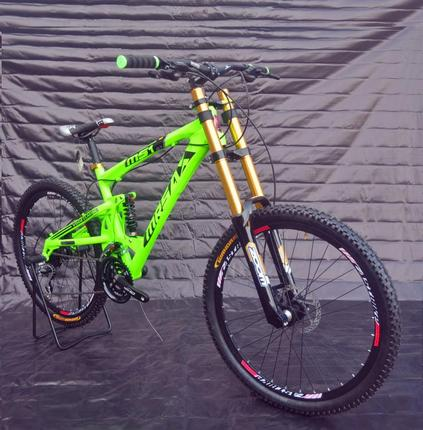 Super Dh mountainbike zachte staart dh fiets zonk mountain helling fr AM FZ-78