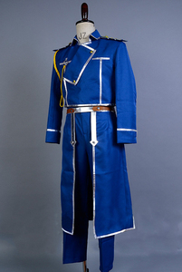 Image 3 - FullMetal Alchemist Cosplay Roy Mustang Cosplay Uniform Halloween Party Costumes