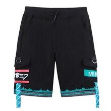 Brdwn VOCALOID Unisex Hatsune Miku Cosplay Pants Shorts
