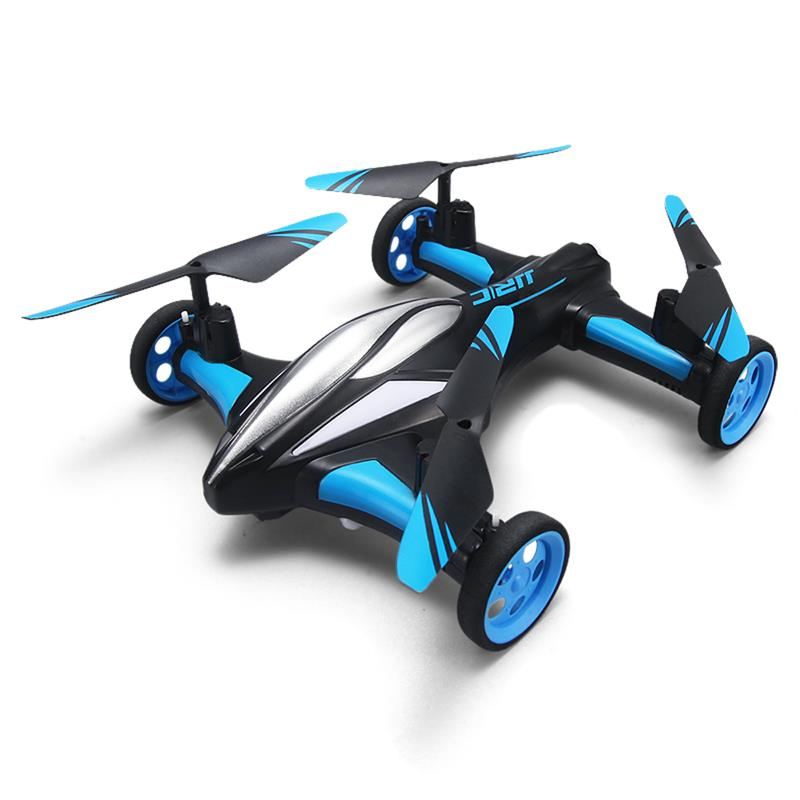 JJRC H23 RC Drone Four-Axis Aircraft Car Dual Mode RC Helicopter Aerial Quadcopter One-key Return Remote Control Drone Toys Gift