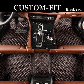 Custom fit car floor mats for Chery A3 A5 E3 QQ QQ3 QQ6 Arrizo 3 Arrizo 7 Fuwin 2 Qoros 3 Cowin   car-styling carpet floor liner