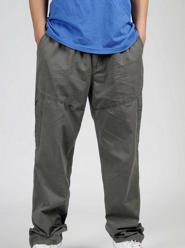 Новинка весна лето размера плюс мужские брюки карго хлопок свободные брюки мужские брюки 3XL 4XL 5XL 6XL