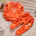 Baby Boys Clothing set Casual Sport Letters Tracksuit Infant Toddler Girls Clothes Top 2pc T-shirt + Pant Kids Warm Winter