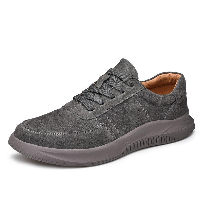 Homens De Andando Couro Dos Calçados Sapatos Casuais Masculinos Clax Calçado Black Equipa Camurça Primavera gray Sapato Verão Moda 2019 khaki Z1CEnfE7x