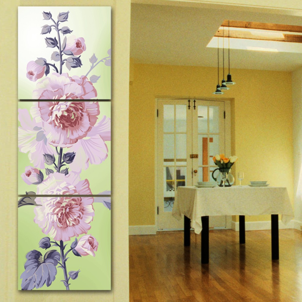 buko hd canvas painting 3 panel wall art picture modular spring ...