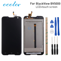 Ocolor For BlackView BV5000 LCD Display And Touch Screen Digitizer Assembly Replacement For BlackView BV5000 Tool