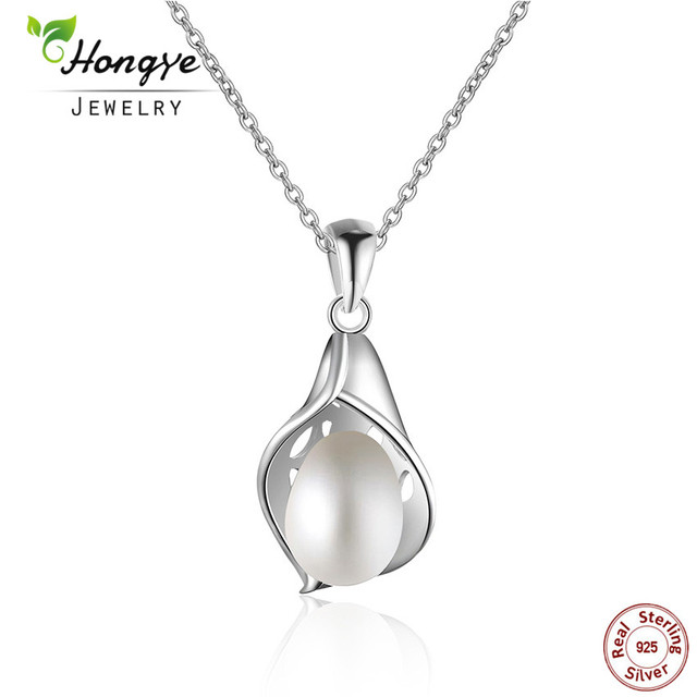 Hongye fine jewelry pearl necklace bohemia 2018 white natural hongye fine jewelry pearl necklace bohemia 2018 white natural freshwater 925 sterling silver hollow conch shaped aloadofball Gallery