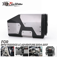 4.2 Liters Decorative Aluminum Box Toolbox Suitable For BMW R1200GS LC Adventure 2013 2017 R1200GS For BMW side bracket