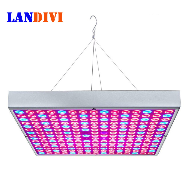 45W LED Grow Light Bulbs Panel, Full Spectrum Plant Growing Lamps for Indoor Plants Greenhouse Seedlings Growing and Flowering 4pcs kingled 1200w powerful full spectrum led grow light panel for plants flowering and growing led plant lights
