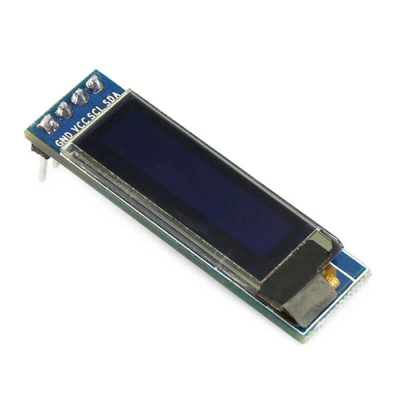 """DIY 0,91 """"O светодиодный Дисплей для Arduino белый 128x32 светодиодный ЖК-дисплей светодиодный Дисплей IIC I2C последовательный 4PIN 3,3-5 В SSD1306 Драйвер IC ..."""