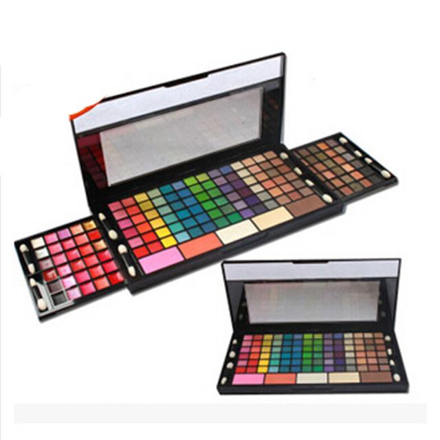 149 cores Mulheres Maquiagem Cosméticos Eyeshadow Palette 114 Shimmer Matte Sombra de Olho 30 Batom 5 Fundação Energia Cosméticos Kit