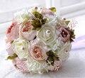 Acessórios do casamento flores bouquets de noiva buque de noivas roxo da dama de honra buquê ramo de novia