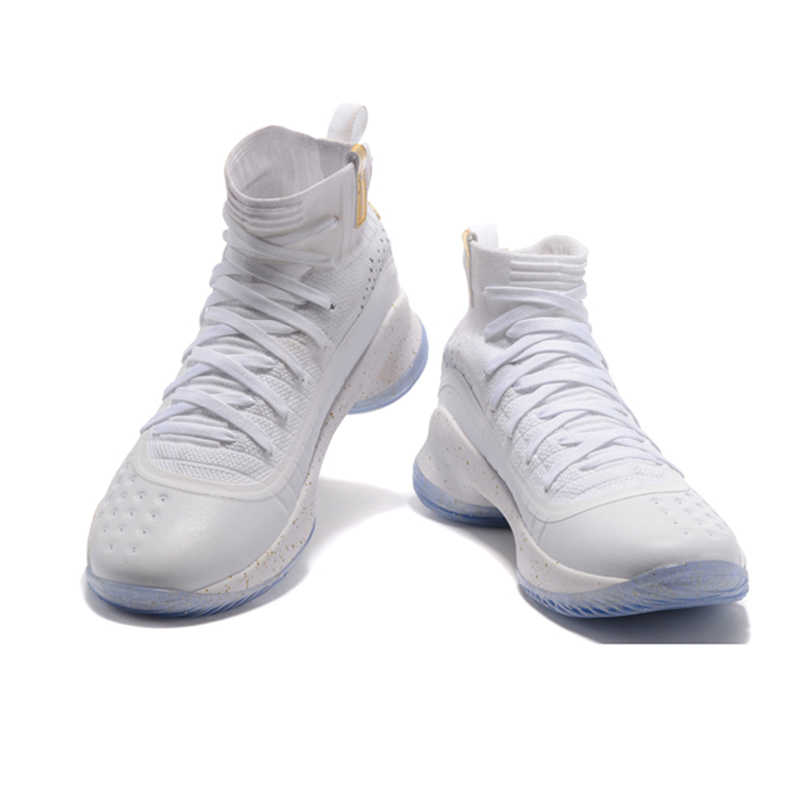 ... Under Armour UA Women s Curry 4 Sport Basketball Sneakers Outdoor  Medium Top Athletic Unique Knitted Socks ... 5b444b003f