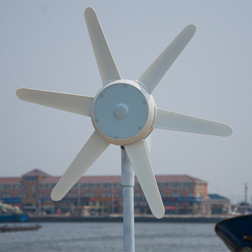 50W small windmill with built in controller, 12V/24V DC wind turbine generator with CE certification with gear 40w 50w hand cranked generator dc small generator 12v 24v permanent magnet dc motor dual use