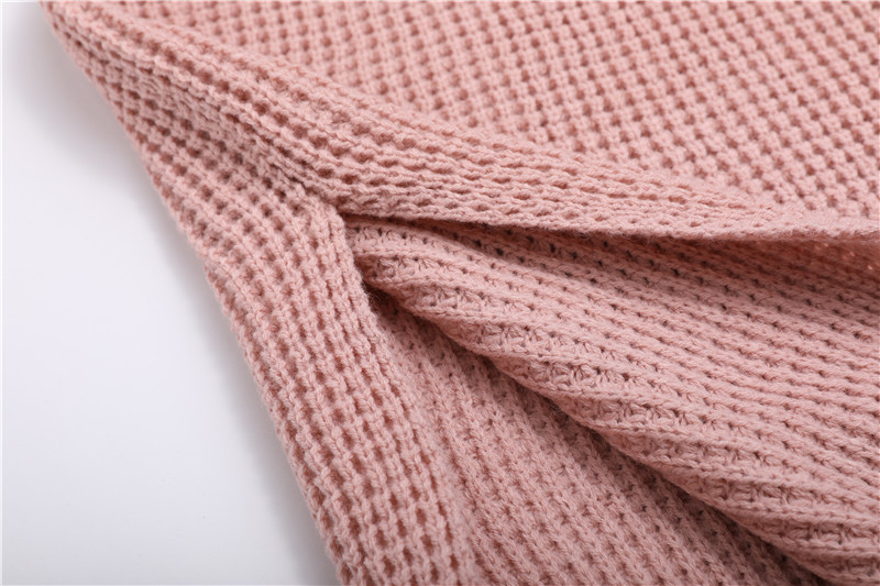Fall Winter Vintage Mustard Side Slit Crochet Sweater Dress for Women Cute Ladies Retro Cosy Loose Split Pullover One Size 44