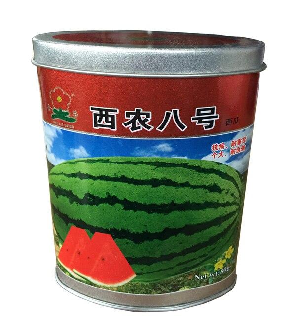 Fruits graines Xinong No8 pastèque graines Grandes graines de pastèque rouge  sucre haute 80 grammes boîtes f480dbfab8de