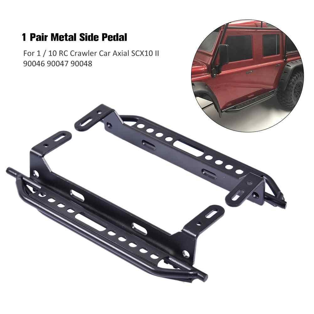 Nieuwe 1 Paar Metalen Kant Pedaal voor 1/10 RC Crawler Auto Axiale SCX10 II 90046 90047 90048 Voor RC Auto accessoires