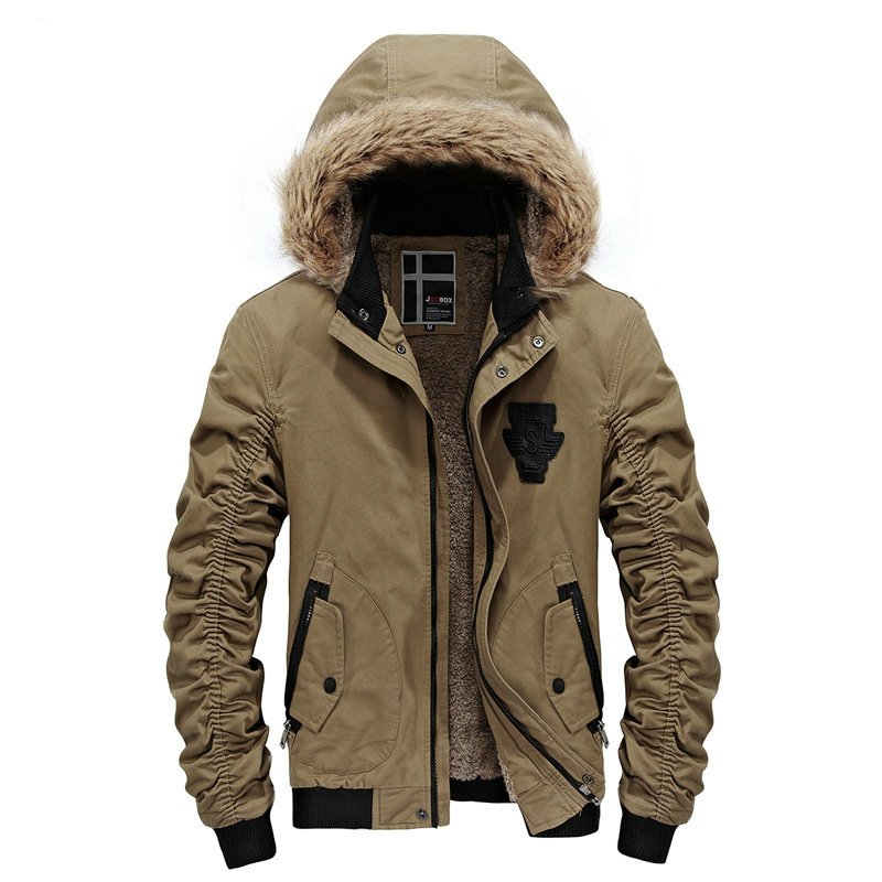 2018 Hot Fashion Hooded Men Winter Jacket Coat High Quality Casual Slim Men's Winter Jackets