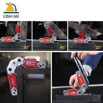 LISHUAI (3Pcs/Pack)Multi-angle Welding Magnet + 20-200 Degree Adjustable Welding Clamp