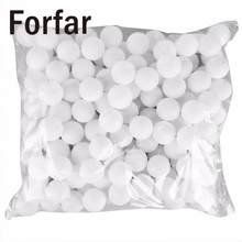 Forfar 150 Pcs 38mm White Beer Pong Balls Balls Ping Pong Balls Washable Drinking White Practice Table Tennis Ball ping pong(China)