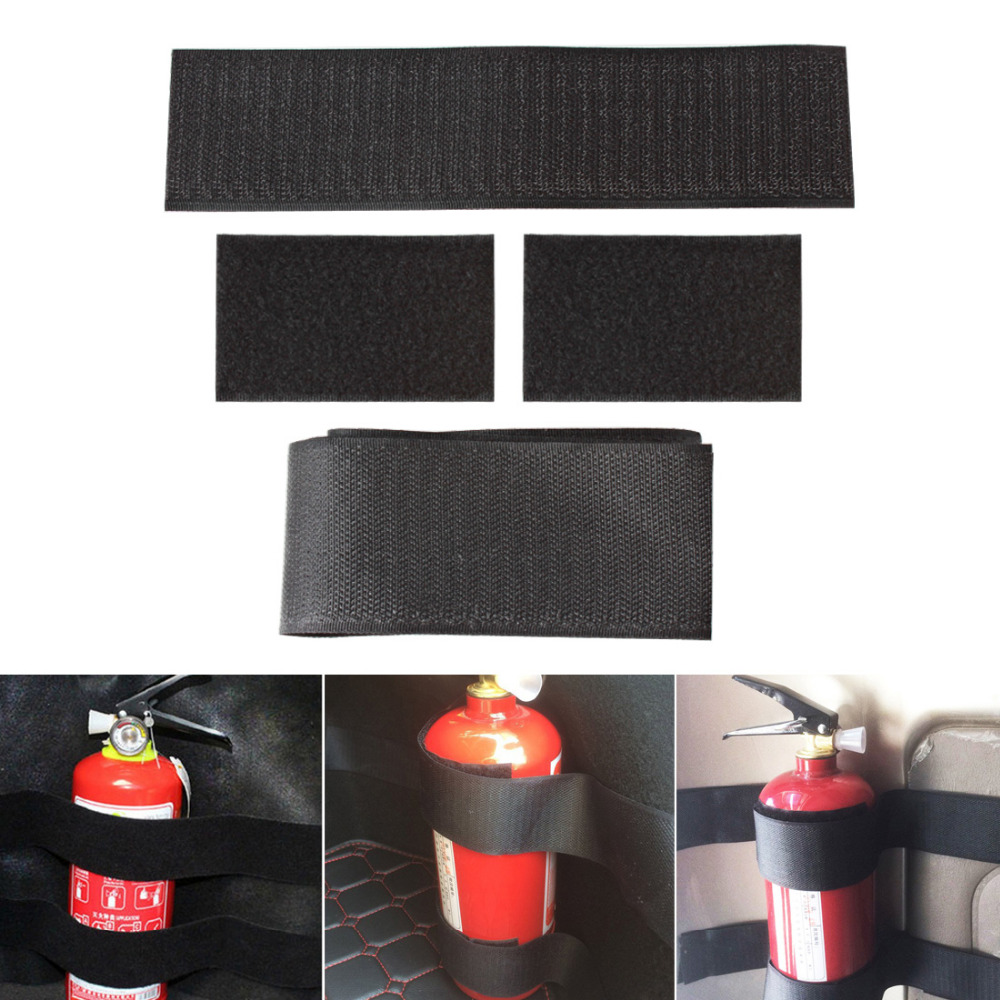 5pcs Car Trunk to Receive Store Content Bag Storage Network for Toyota Skoda Fabia Rapid Superb Yeti for Fire Extinguisher