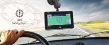 4 5 inch car dvr gps navigator android4 4 2 with IPS clear screen 854 480