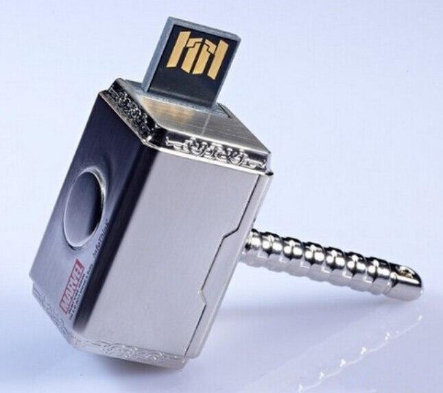 100pcs lot metal usb2 0 flash font b drive b font 4GB 8GB 16GB 32GB 64GB