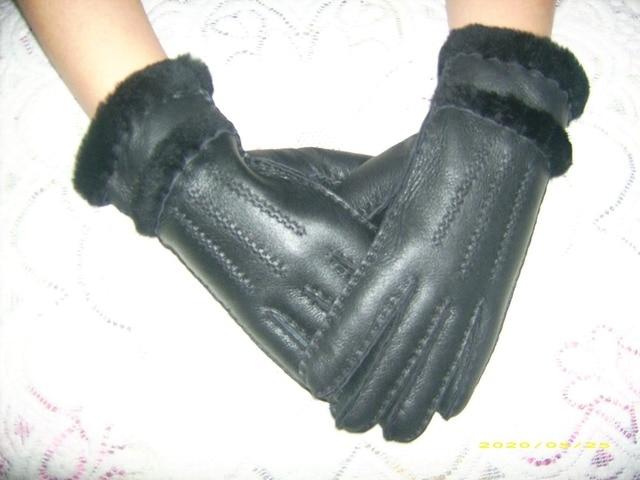 women sheepskin gloves / Hot selling Warm GlovesO riginal quality Australian sheepskin