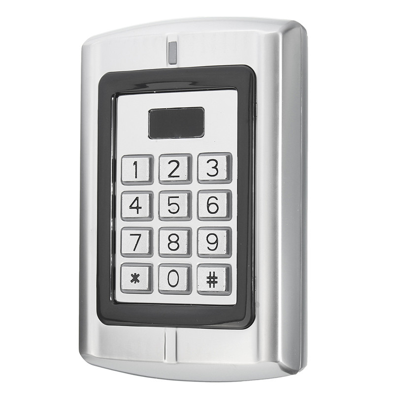 Waterproof Password Keypad RFID Card Reader Entry Door Lock Access Control Security System 128 mm*82 mm*28 mm rfid keypad with lcd screen single door access controller 125khz 13 56mhz card reader smart password lock for security system